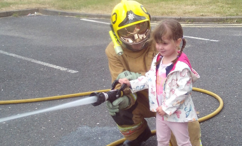 Nursery had a special visit from the fire brigade Photo-1