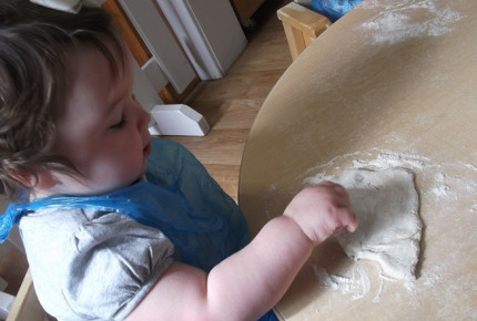 Baby Pizza Making! Photo-1