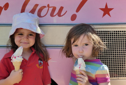 Ice Cream Man Visit Photo-1