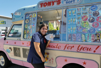 Ice Cream Man Visit Photo-5