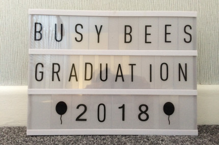 Busy Bees Graduation