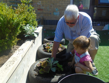 Glorious Gardening Grandad Photo-1