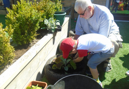 Glorious Gardening Grandad Photo-2