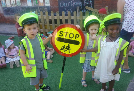Visit from Rosie the Lollipop lady! Photo-2