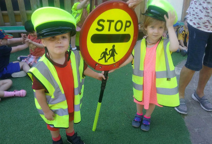 Visit from Rosie the Lollipop lady! Photo-3