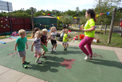 Preschool PE Lessons Start This Week! Photo-1