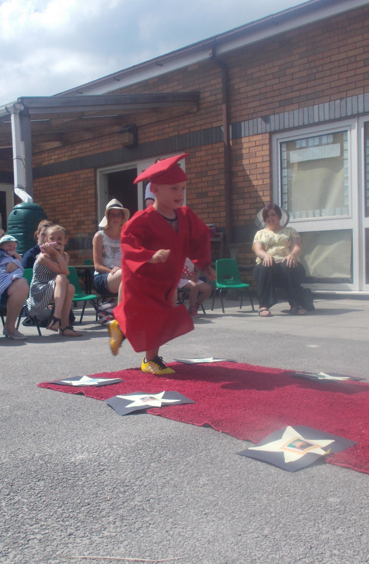 Busy Bees warton Celebrate Graduation