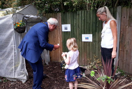 New Nature Garden opening with the Mayor  Photo-2