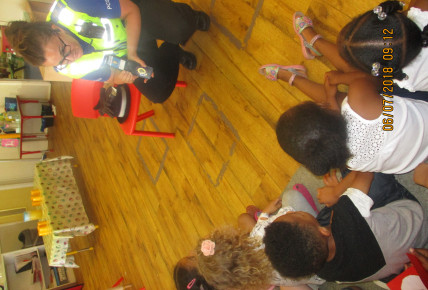 The police visit the nursery Photo-2
