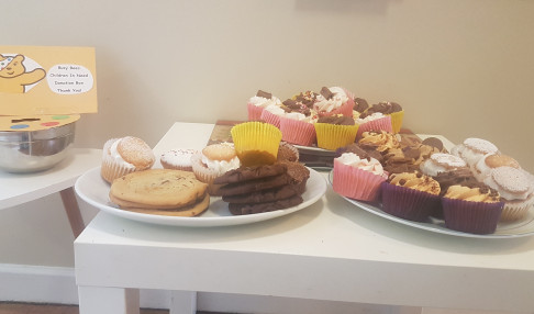 Some of the yummy cakes we sold!!